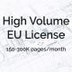 High Volume Extended Use License
