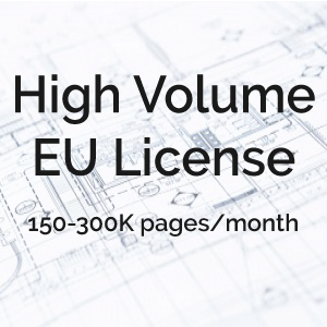 High Volume Extended Use License
